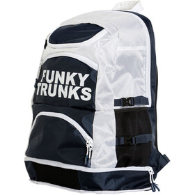 Funky Trunks Elite Squad Zwem- en Tri Transition rugzak wit/zwart